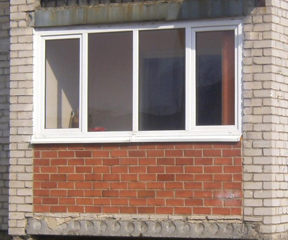 Окна пвх застеклить лоджию. - как установить балконный блок .