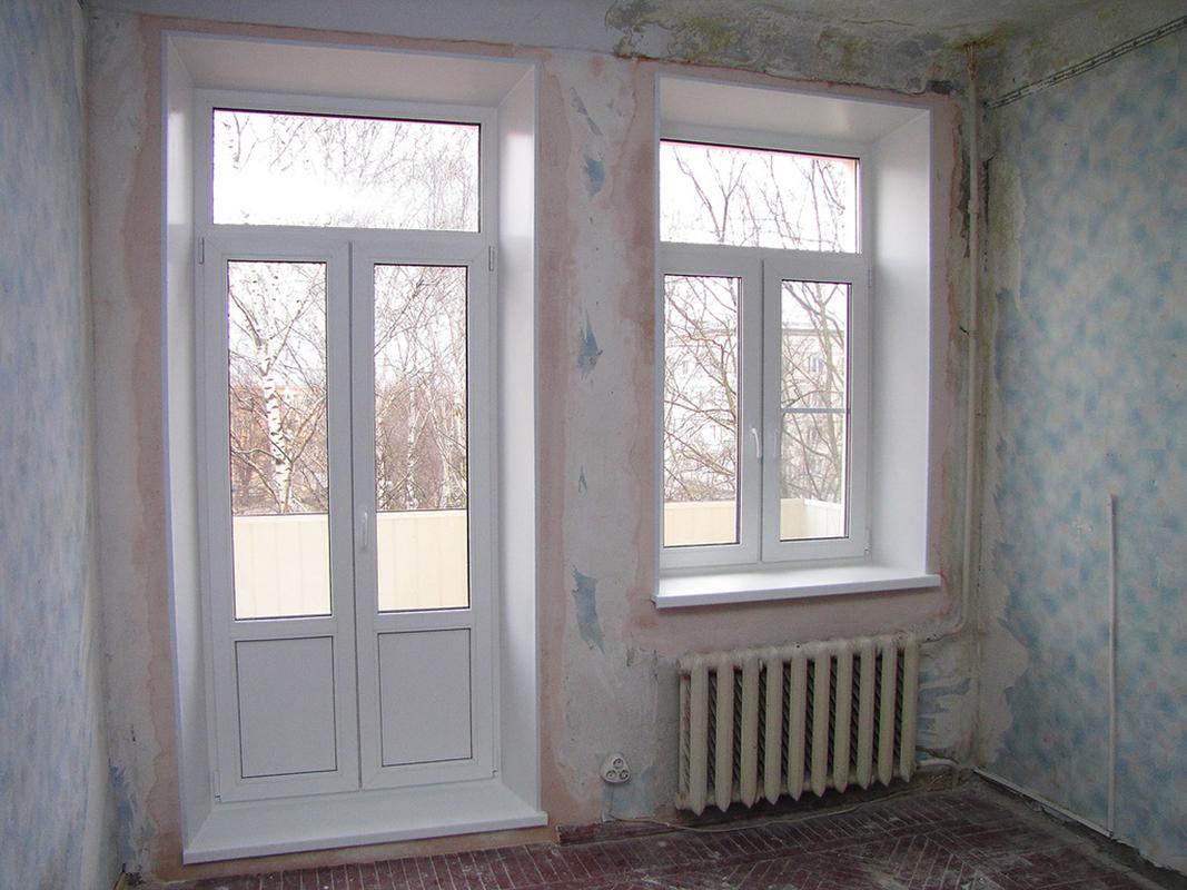 Балконный блок - примеры работ компании киев окна фирма.